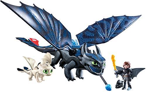 Playmobil HIPO y Desdentao con Bebé Dragón Juguete geobra Brandstätter 70037