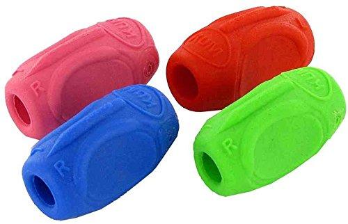 Wedo-Set di 3aiuti scrittura (guida dito) Grip Blu, Verde, Rosso o Rosa