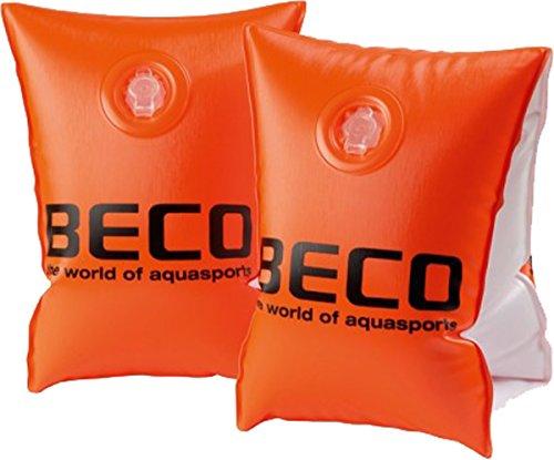 BECO Badeanzug Pool Schwimmen lernen 09706Spritzpistole Aquatic Fun Kids schwimmfähig Armbinden, orange