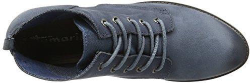 Tamaris Damen 25100 Combat Boots Blau (NAVY 805)