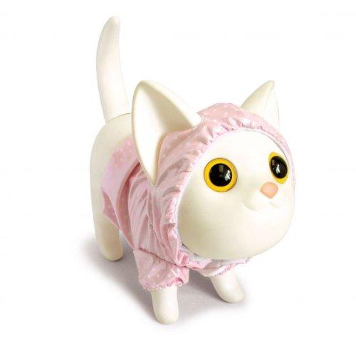 Spardose SLICKER KITTY pink/ white