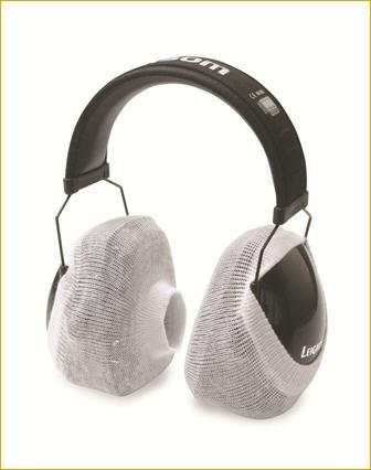 50 Paar Packung Howard Leight Optisorb Baumwollüberzug für Kapselgehörschützer Hygieneschutz