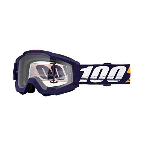 100% Accuri Anti Fog Clear Lunettes de Protection, grib