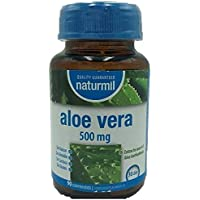 NATURMIL Aloe Vera 500 mg limpieza de colon, pack de (2 X 90)