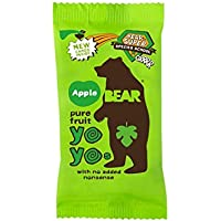 Bear | Yoyo Pure Fruit Rolls - Apple | 15 x 20g