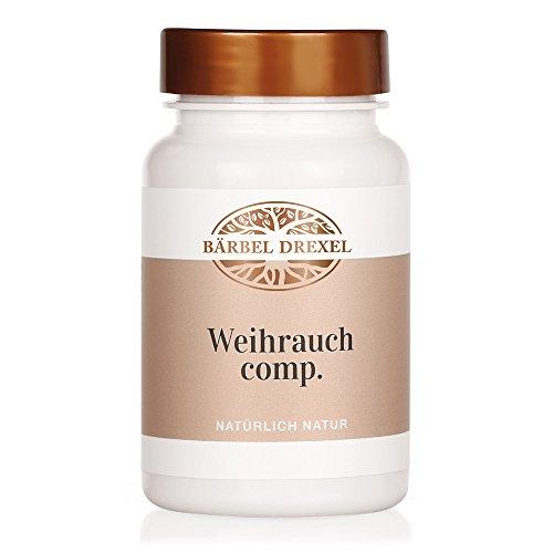 Myrrhe, Weihrauch (Weihrauch comp. Presslinge, 56g, ca. 140 Stück - Nahrungsergänzung mit Weihrauch (Boswellia serrata) und Myrrhe Bärbel Drexel)