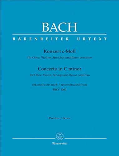 Konzert fr Oboe, Violine, Streicher und Basso continuo c-Moll