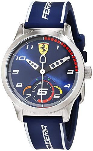 Scuderia Ferrari Unisex Kinder Analog Quarz Uhr mit Silikon Armband 860005