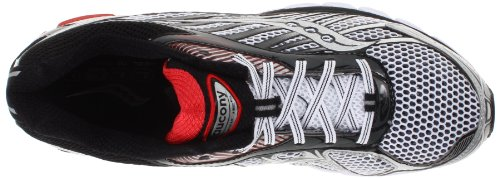 Saucony Running Powergrid Ride 6, Chaussures Homme Blanc/argent