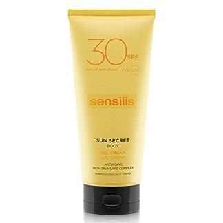 Sensilis Sun Secret Gel Crema Protector Solar Corporal SPF30-200 ml