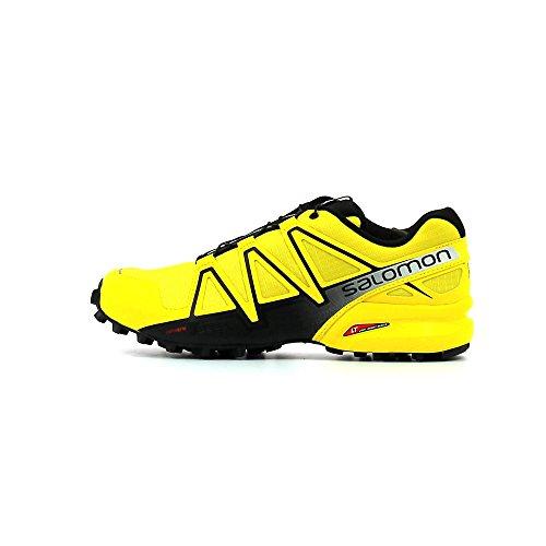 Salomon Speedcross 4, Chaussures de Trail Homme, Bleu Jaune (Empire Yellow/black/black)