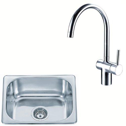 Lavandino da cucina lavello da incasso in acciaio inox e rubinetto da cucina rubinetto per lavello m