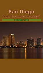 San Diego Trolley 'Green Line' Train Business Directory Travel Guide
