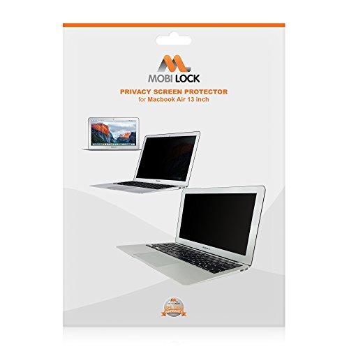 Mobi Lock sichtschutzfolie / Blickschutzfolie| Kompatibel mit 13 Zoll Macbook Air | Blockiert neugierige Augen vor dem Sehen Ihres Bildschirms von den Seiten und von der Haltbarkeit