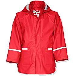 Playshoes Waterproof Raincoat Chaqueta Impermeable Infantil Rojo 6 Años