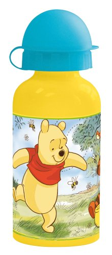 Spel - 4749 - Ameublement et Décoration - Gourde Aluminium - Disney Winnie The Pooh