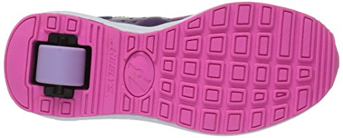 Heelys Velocity, Sneaker a Collo Basso Bambina Viola (Purple / Neon Pink / Lilac)