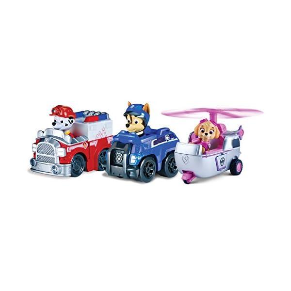 Paw Patrol 6024761 - Set de 3 vehículos Patrulla Canina 1