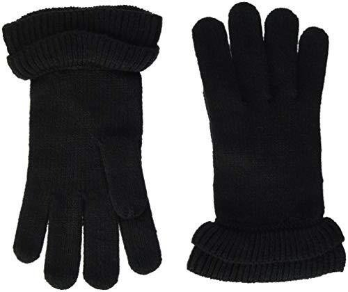 PIECES Damen Handschuhe PCFINA GLOVES Schwarz Black, One Size