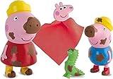 IMC Toys Peppa Pig - Peppa y George Manchitas Mágicas