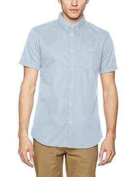 JACK & JONES Jornew Gavin Shirt Ss Noos, Camicia Uomo