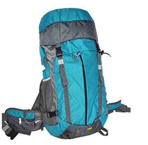 Zaino Da 40L Zaino Da Trekking Escursioni In Montagna All'aperto Viaggiare Casual Daypack,Purple Blue