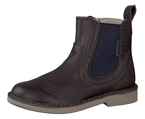 RICOSTA Unisex - Kinder Chelsea Boots Dallas 7622000,Mädchen/Jungen Stiefel,Halbstiefel,Stiefelette,Bootie,Schlupfstiefel,flach,Weite Mittel,Cafe, EU 34
