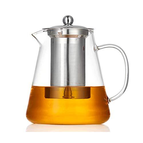 Teekanne, Edelstahl-Filter, hitzebeständig, hochtemperaturbeständig, verdickt, Anti-Burst, kann durch offene Flamme erhitzt werden, enthält keine schädlichen Substanzen wie Heavy Metal Blei und hat gu
