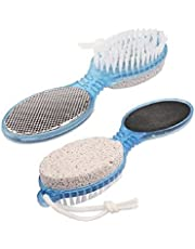 Namaskaram Pumice Stone for Feet Remove Dead Skin Foot Scrubber for Men and Women - Pack of 2