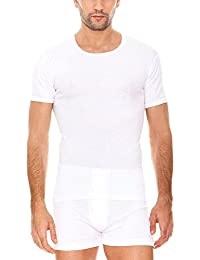 Clásico - T-Shirt - Homme - Lot de 2 - Blanc (Blanco) - 52/LAbanderado