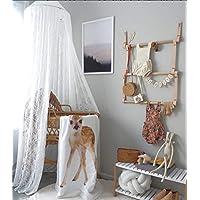 XNNSH Just Relax Mosquito Net, Elegante Cama Canopy Set Incluyendo Kit Colgante Completo, Ideal