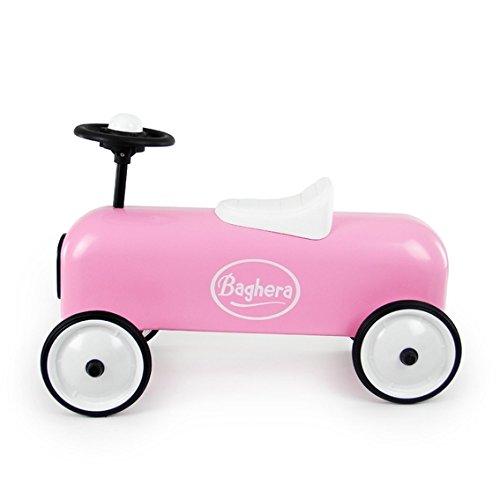 Preisvergleich Produktbild Baghera 804 - Rutscher aus Metall, Retrolook - Racers, rosa