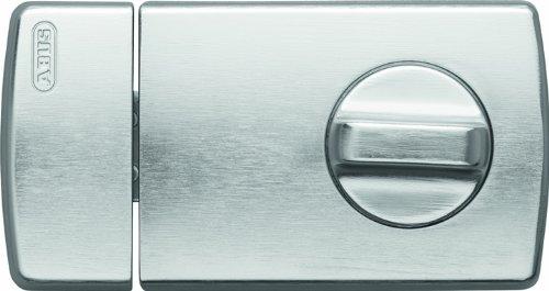 ABUS Tür-Zusatzschloss 2110 mit Drehknauf, silber, 56033 -