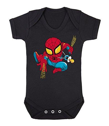 Bebé Spiderman bebé chaleco Babygrow Babywear uno piezas), Hero Comi