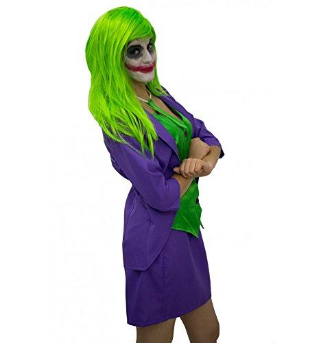 Joker frau kostüm inspiriert (Erwachsene) - (Joker's Frau Kostüm)