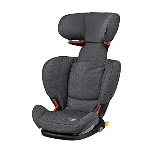 Maxi Cosi RodiFix AirProtect (AP) Kindersitz Gruppe 2/3, ISOFIX-Sitzerhöhung, optimaler Seitenaufprallschutz, 3,5 - 12 Jahre, 15 - 36 kg, (grau) Sparkling Grey