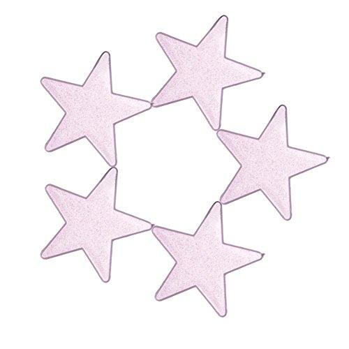 50PCS 3D Fluoreszierende Leuchtende Sterne Wandtattoo,Leuchtsterne Punkten Wandsticker Wandaufkleber DIY Für Schlafzimmer Jungen Mädchen Kinderzimmer