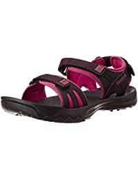 Reebok Unisex Adventure Serpant Lp Pink & Black Mesh Sandals and Floaters - 5 UK