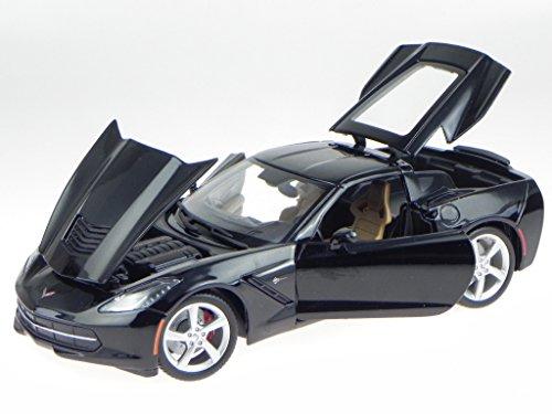 chevrolet-corvette-c7-coupe-2014-schwarz-modellauto-31182-maisto-118