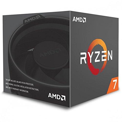 AMD Ryzen 7 1700 Prozessor mit Wraith-Spire-LED-Kühler