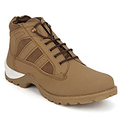 Knotty Derby Mens Tan Boots - 9 UK/India (43 EU)