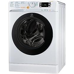 Indesit XWDE 961480X W Autonome Charge avant A Blanc - Machines à laver avec sèche linge (Charge avant, Autonome, Blanc, Gauche, boutons, Rotatif, 62 L)