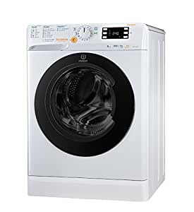 Indesit XWDE 961480X W freestanding Front-load A White - Washer Dryers (Front-load, Freestanding, White, Left, Buttons, Rotary, 62 L)