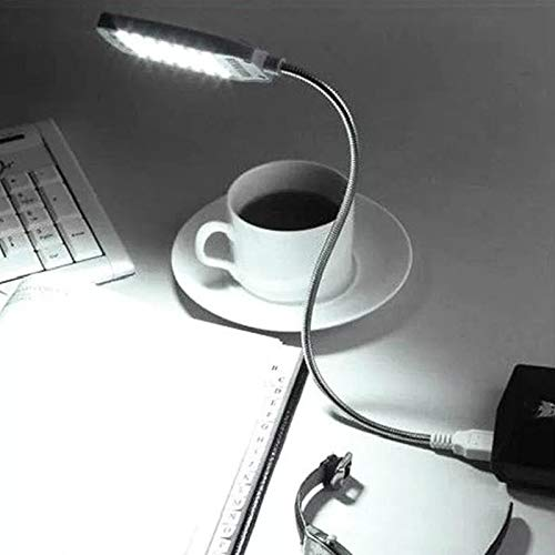 Notebook Lampe (USB Leselampe Lampe Flexible Helle Mini 28 LED für Notebook Computer macbook apple PC laptop)