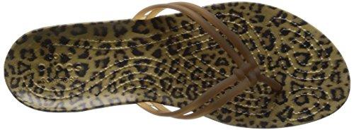 Crocs - Isabella Graphic, Sandali infradito Donna Vari colori (Leopardo)