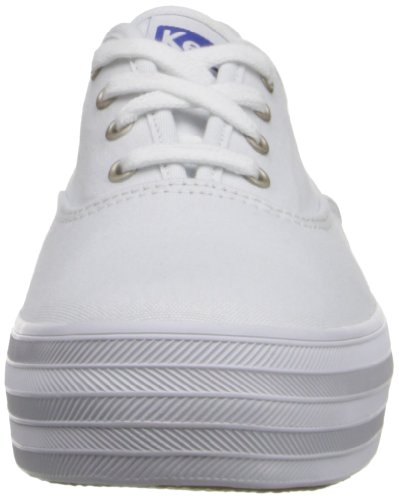 Donna bianco Keds Bianche Esecuzione In Scarpe Triple Rxwq0aw5