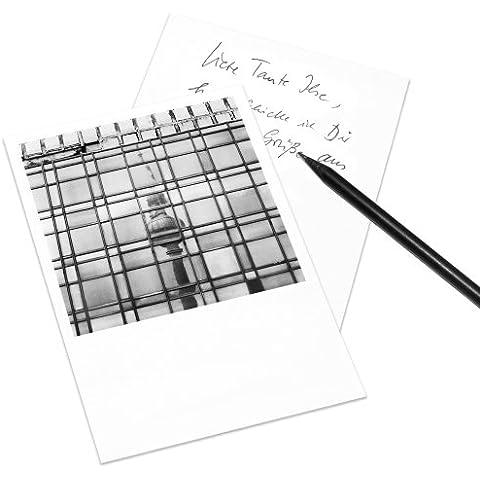 Juego de 5 tarjetas postales Berlín en el estilo de Polaroid - retrato DIN A6 - Arquitectura Alemania - Tema: Palast der Republik
