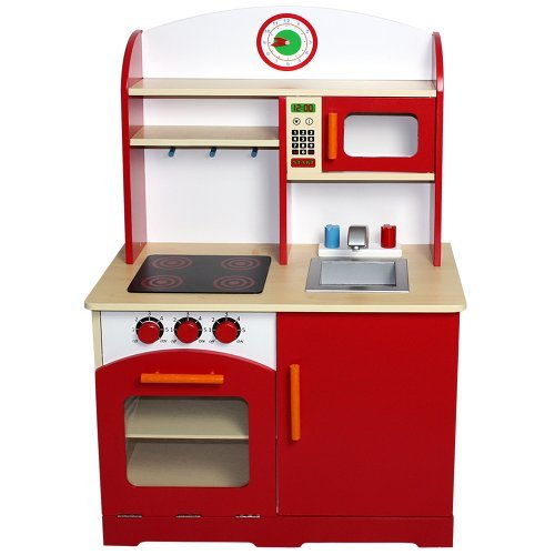 Infantastic Cucina giocattolo cucina gioco per bambini di legno ca. 61/93/33 cm