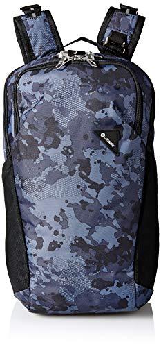 Pacsafe Vibe 20 - Anti-Diebstahl Rucksack, Backpack, Diebstahlschutz Daypack, Sicherheitstechnologie 20 Liter, Grau Camo/Grey Camo -