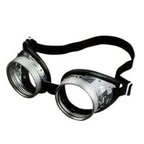Schraubringbrille 717 G Klar Durchsichtig Retro Oldschool -